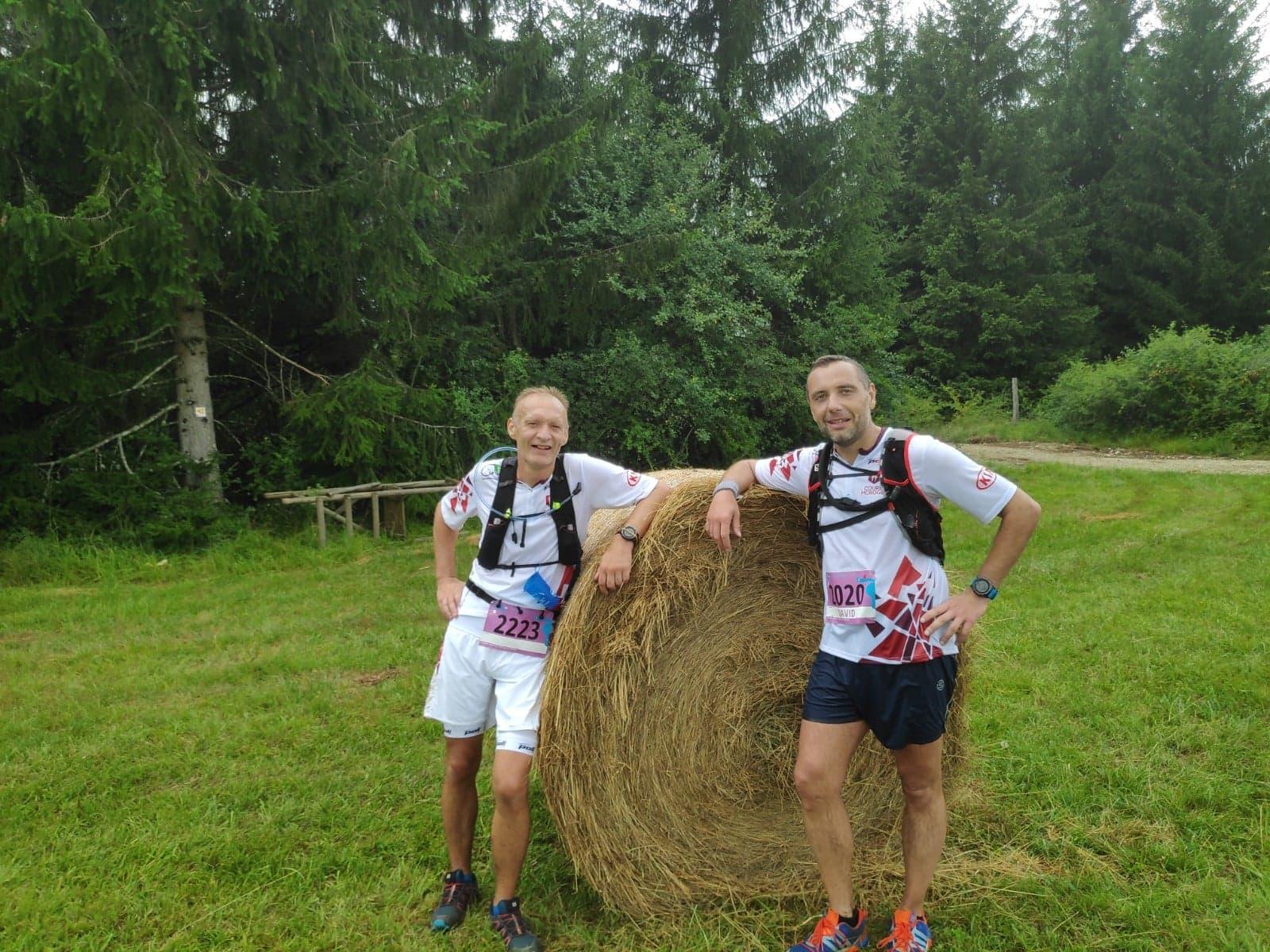 Fabrice B. / David D. au Trail de Vouglans 2019