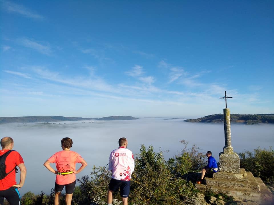 Mer de brume sous le Mont Avril